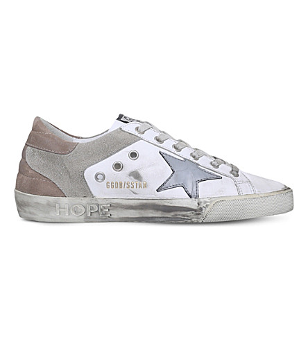 GOLDEN GOOSE Superstar c61 leather trainers (White/oth