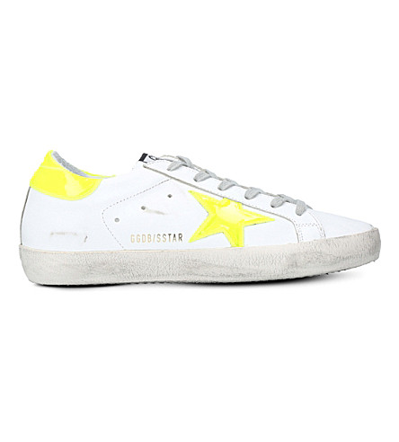 GOLDEN GOOSE Superstar c74 leather trainers (White/oth