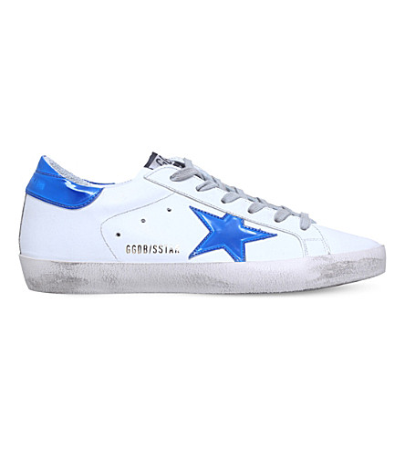 GOLDEN GOOSE Superstar c75 leather trainers (White/oth