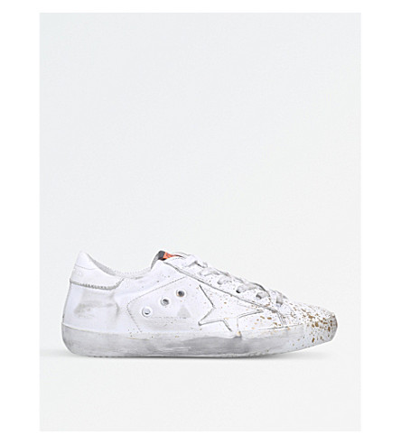 GOLDEN GOOSE Superstar D52 leather trainers (White/oth