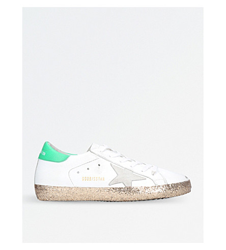 GOLDEN GOOSE Superstar D53 leather trainers (White/oth