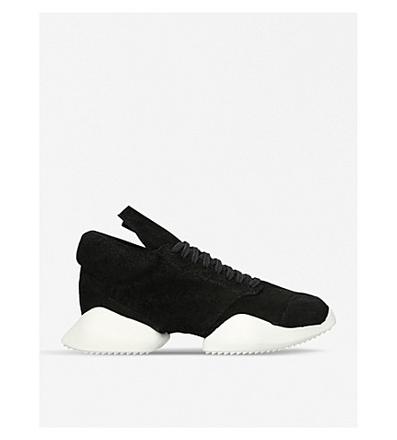 RICK OWENS Vicious runner trainers (Blk/white