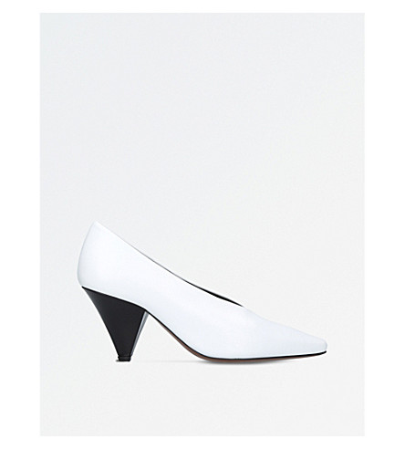 NEOUS Aunty leather courts (White