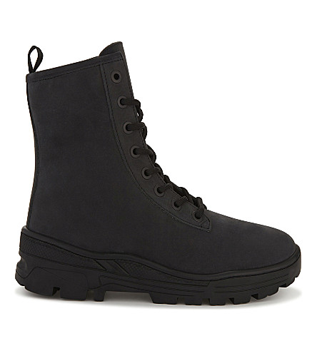 YEEZY Season 5 nubuck military boots (Grey/dark