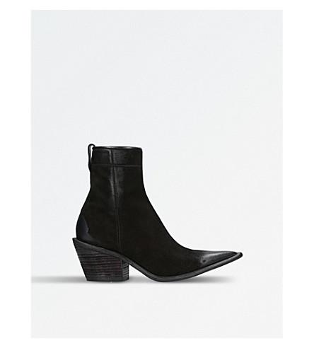 HAIDER ACKERMANN Zarou suede ankle boots (Black