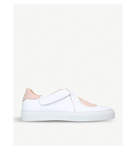 CAMILLA ELPHICK Lover heart-motif leather trainers (White/oth