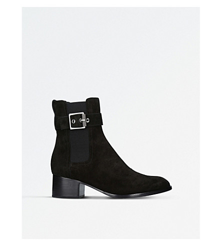 RAG AND BONE Wilson suede ankle boots (Black