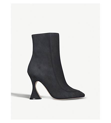 SIES MARJAN Emma leather ankle boots (Black