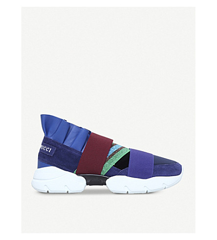 PUCCI City Up trainers (Purple