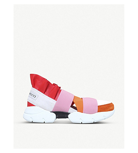 PUCCI City Up trainers (Orange