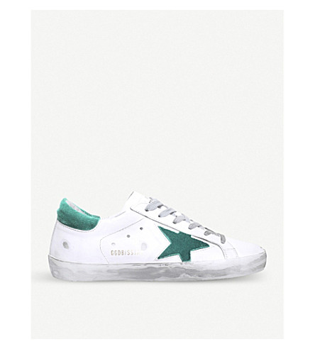 GOLDEN GOOSE Superstar E49 leather trainers (White/oth