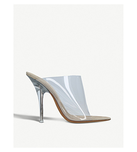 YEEZY Season 6 PVC heeled mules (Other
