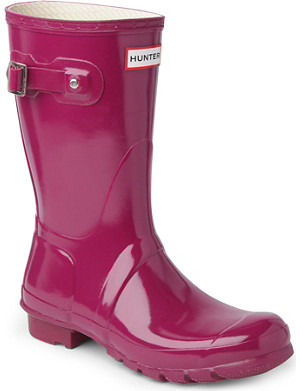 HUNTER Original Gloss short wellies
