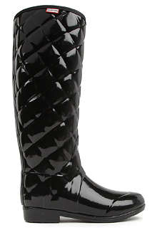 HUNTER Regent Savoy quilted wellies