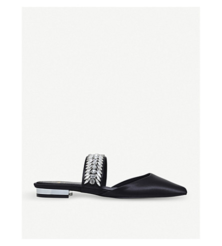 SUECOMMA BONNIE 宝石点缀平底鞋 (其它