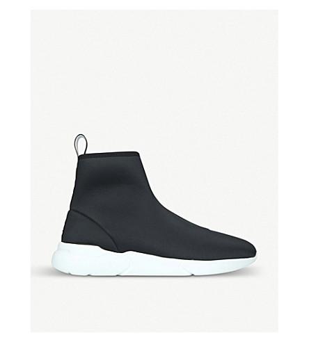 MOSCHINO Logo neoprene sock high-top trainers (Black