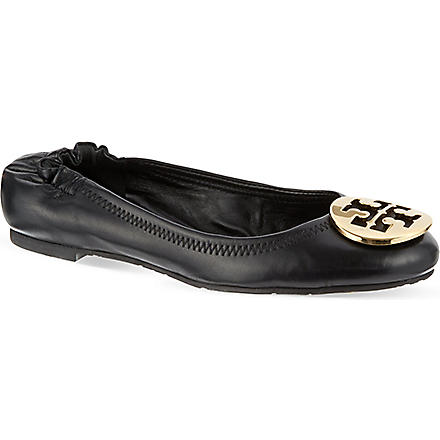 TORY BURCH Reva pumps (Black/comb