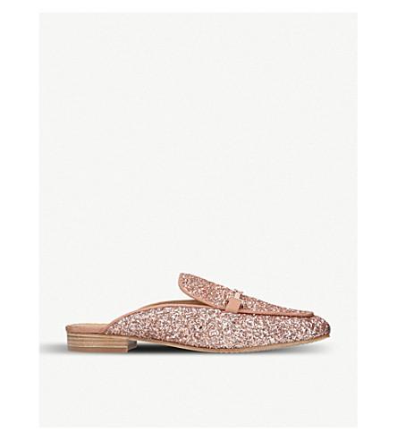 TORY BURCH Amelia glitter loafers (Pink