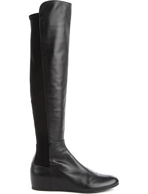 STUART WEITZMAN Mainline leather knee-high boots