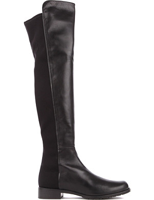 STUART WEITZMAN 5050 leather riding boots