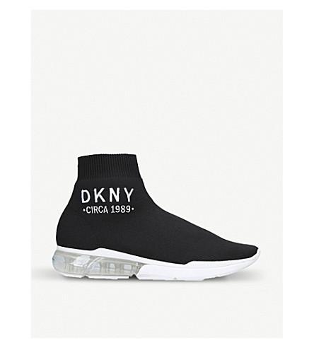 Sock Detail Dkny Logo Nora Sneakers tqx80qgFw