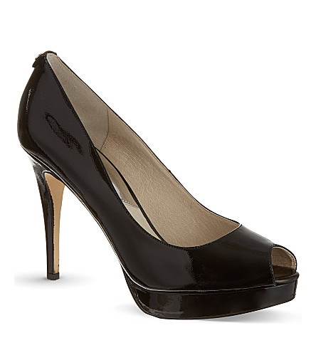 MICHAEL MICHAEL KORS York platform court shoes (Black