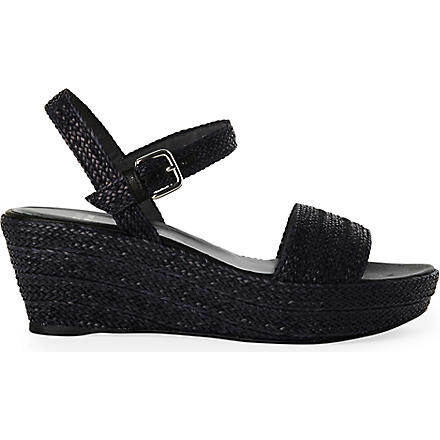 STUART WEITZMAN Barbados sandals (Black