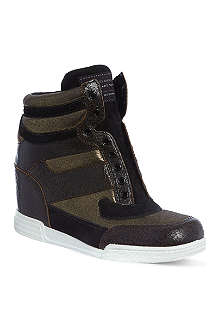 MARC BY MARC JACOBS Wedge hi top trainers