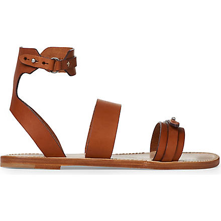 RAG & BONE Lara flat sandals (Brown