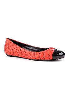 TORY BURCH Katlin quilted leather pumps