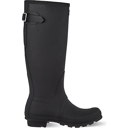 HUNTER Original adjustable wellies (Black