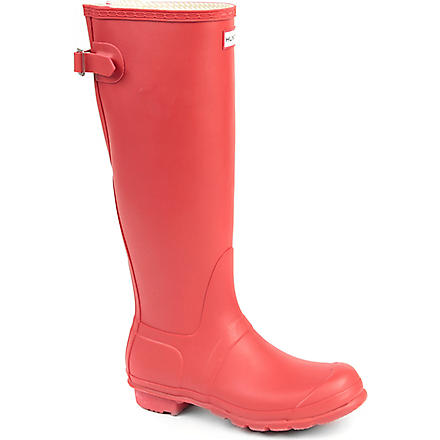 HUNTER Original adjustable wellies (Red