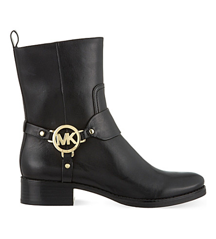 MICHAEL MICHAEL KORS Fulton harness ankle boots (Black