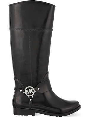 MICHAEL MICHAEL KORS Fulton harness tall rain boot