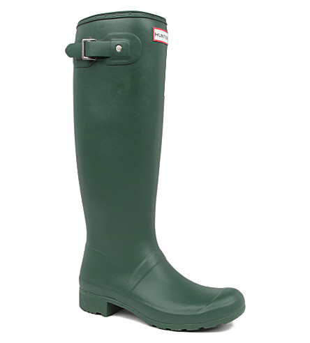 HUNTER Original Tour foldable wellies (Green
