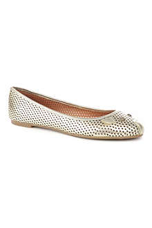 MARC BY MARC JACOBS Mouse perforated leather pumps
