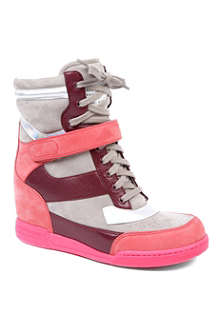 MARC BY MARC JACOBS Kisha suede wedge trainers