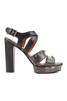 MARC BY MARC JACOBS Dries leather platform sandals