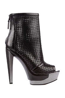 BRIAN ATWOOD Livorno leather peep-toe boots