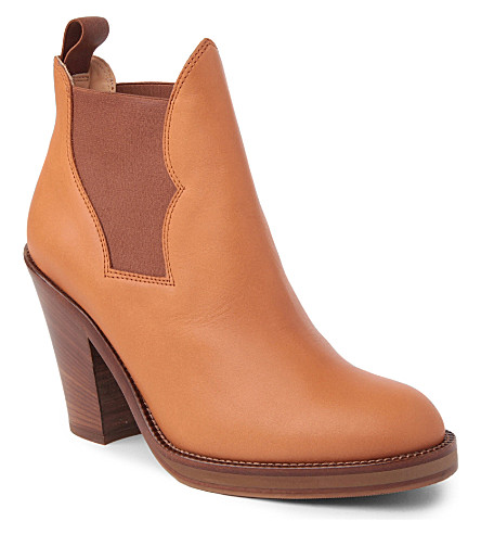ACNE Star Chelsea boots (Tan