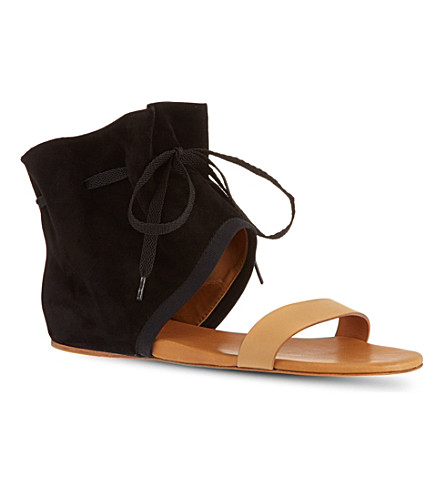 SEE BY CHLOE Gale suede sandals (Black
