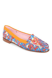 CARVEN Zespa printed loafers