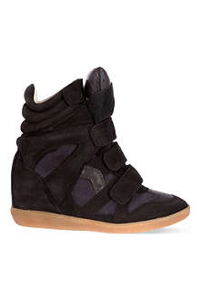 ISABEL MARANT Bekett hi-top trainer
