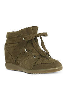ISABEL MARANT Bobby wedge trainers