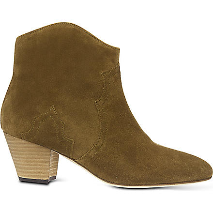 ISABEL MARANT Dicker ankle boots (Beige