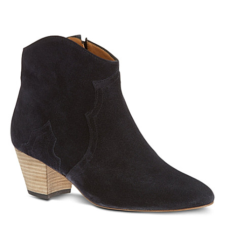 ISABEL MARANT Dicker ankle boots (Pewter