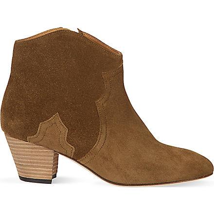 ISABEL MARANT Dicker ankle boots (Khaki