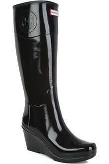 HUNTER Champery glossy wellies