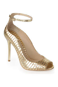 BRIAN ATWOOD Leida metallic leather courts