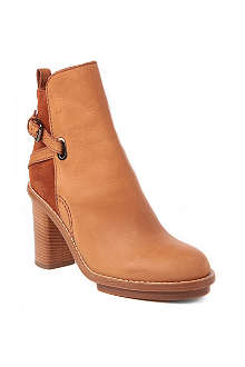 ACNE Cypress leather and suede ankle boots